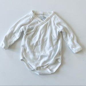 Baby Mori long sleeve kimono bodysuit 3-6mos